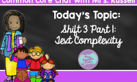Common Core Chat: Shift 3 Part 1: Text Complexity