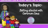 Common Core Chat: An introduction