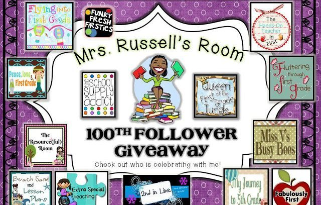 100th Follower Giveaway