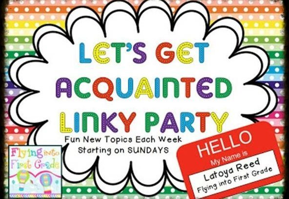 Let's Get Acquainted Linky {March 24, 2013}