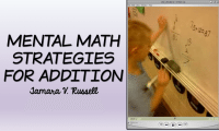 Teaching Math: Number Sense Strategies for ADDITION
