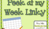 Peek at My Week {April 7-11, 2013}