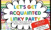 Sunday Night Giveaway & Let's Get Acquainted Linky {April 7, 2013}