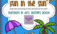 Fun in the Sun {Thursday, May 30, 2013}