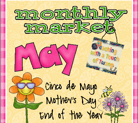 Monthly Market for May & New Things…
