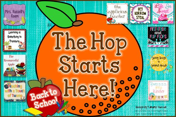 Back to School Blog Hop!