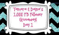 Tamara & Daina's 1K FB Follower Giveaway DAY 1