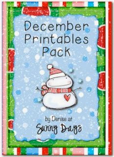 http://www.teacherspayteachers.com/Product/December-Printable-Pack-404227