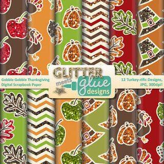 http://www.teacherspayteachers.com/Product/Gobble-Gobble-Thanksgiving-Digital-Scrapbook-Paper-Clipart-November-Holiday-Fun-913270