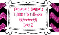 Tamara & Daina's 1K FB Follower Giveaway DAY 2