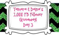 Tamara & Daina's 1K FB Follower Giveaway Day 3