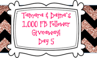 Daina & Tamara's 1K FB Follower Giveaway DAY 5