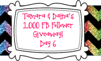 Tamara & Daina's 1K FB Follower Giveaway DAY 6!