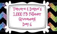 Tamara & Daina's 1K FB Follower Giveaway DAY 6!