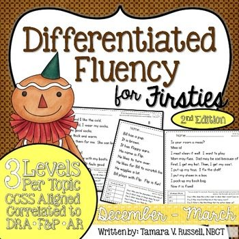 Differentiated Fluency For Firsties 2nd Edition {December