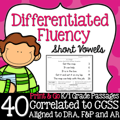 Tamara Russell Kindergarten Fluency