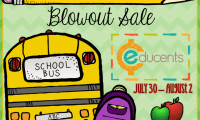 Educents Back to School Blowout Sale
