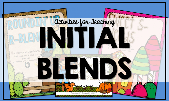 Teaching Initial Blends