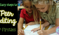 Peer Editing with Firsties