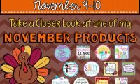 Take A Closer Look: November
