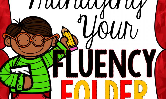 Mrs. Russell's Fluency Folder Organization