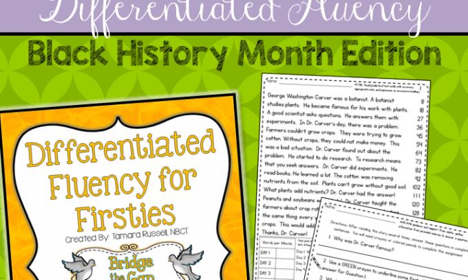 Fantastic Fluency for Black History Month