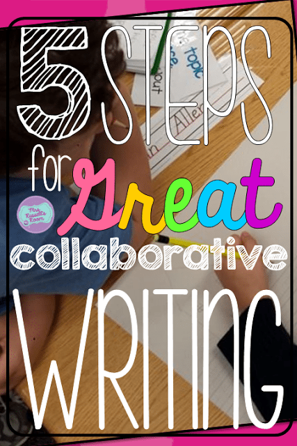Teaching Collaborative Journalism ~ Steps for great collaborative writing mrs russell s room