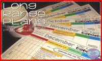 Mrs. Russell's Long Range Plans for First Grade