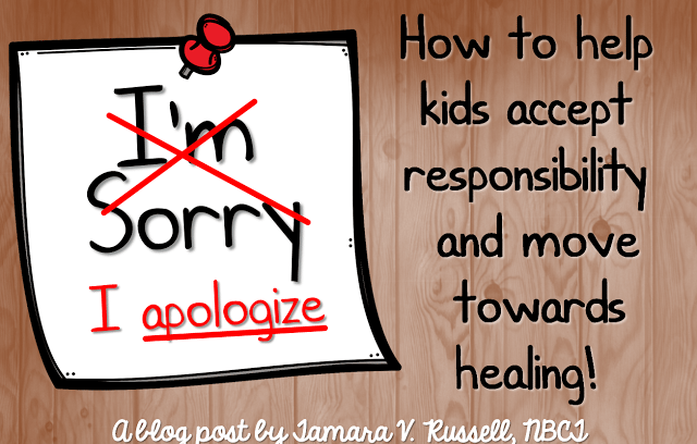 Learning the Language of the Apology