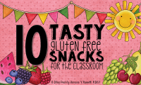 10 Tasty Gluten Free Snacks for the Classroom