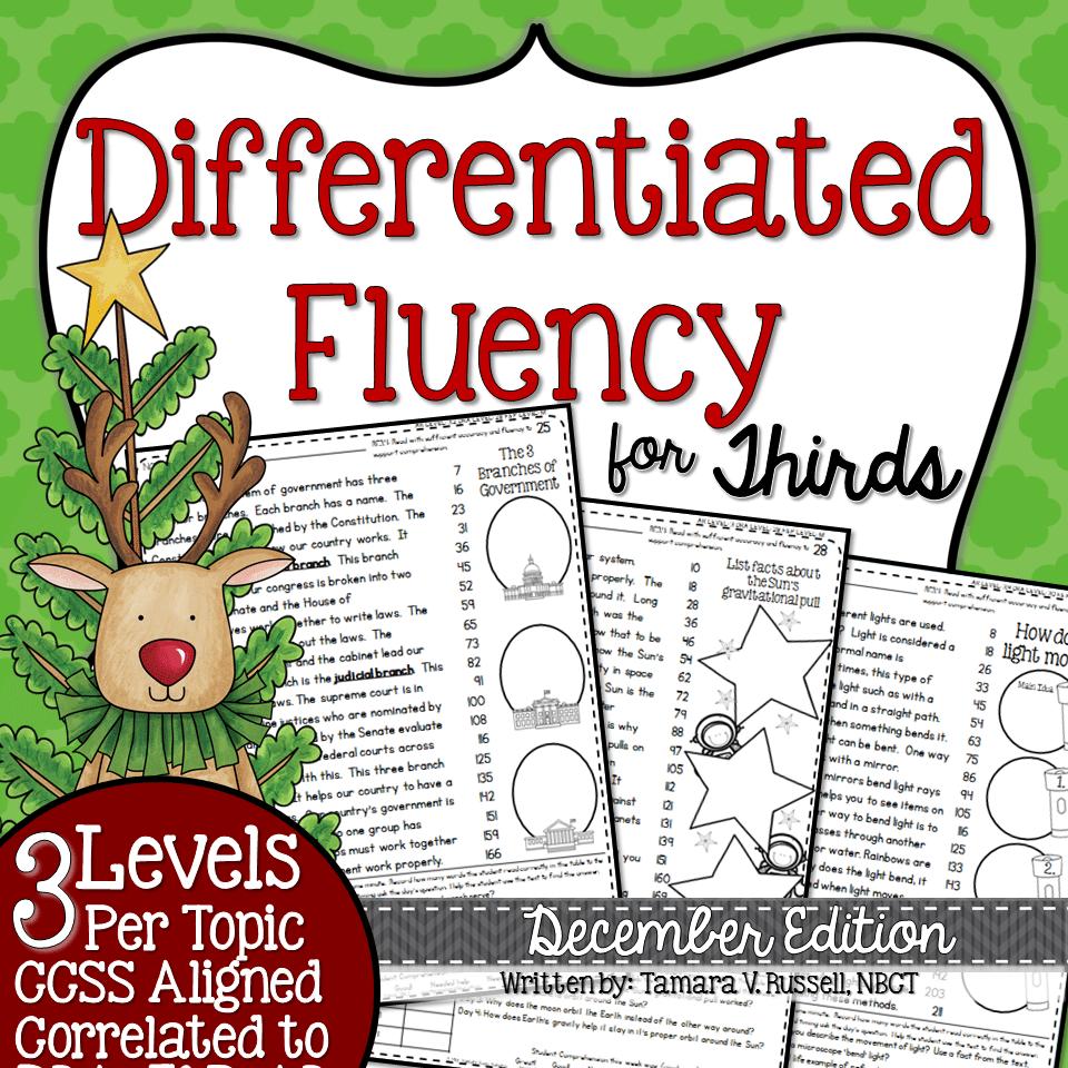 Third Grade Fluency December