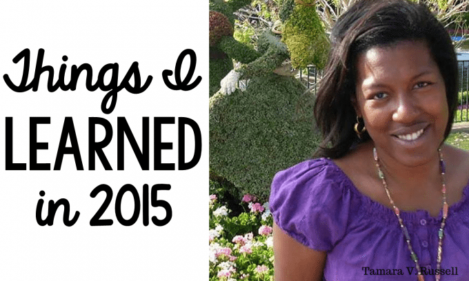 Things I learned in 2015