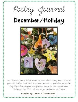Mrs. Russell's December/Holiday Poetry Journal Poems