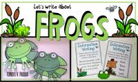 Frog Writing