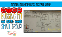 Stop Bugging Me!  I'm In Small Group!