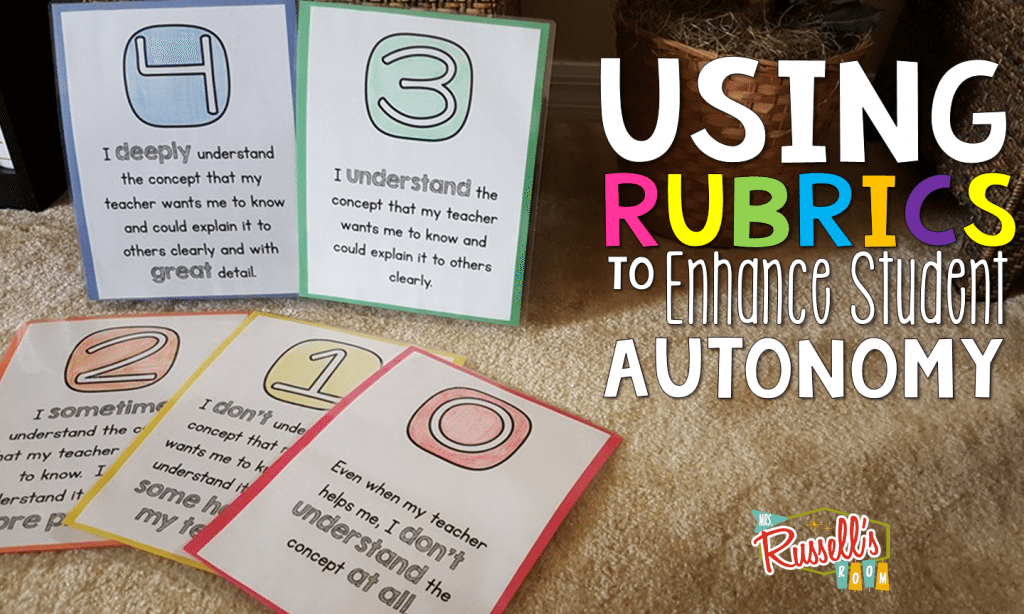 Using Rubrics in the Classroom