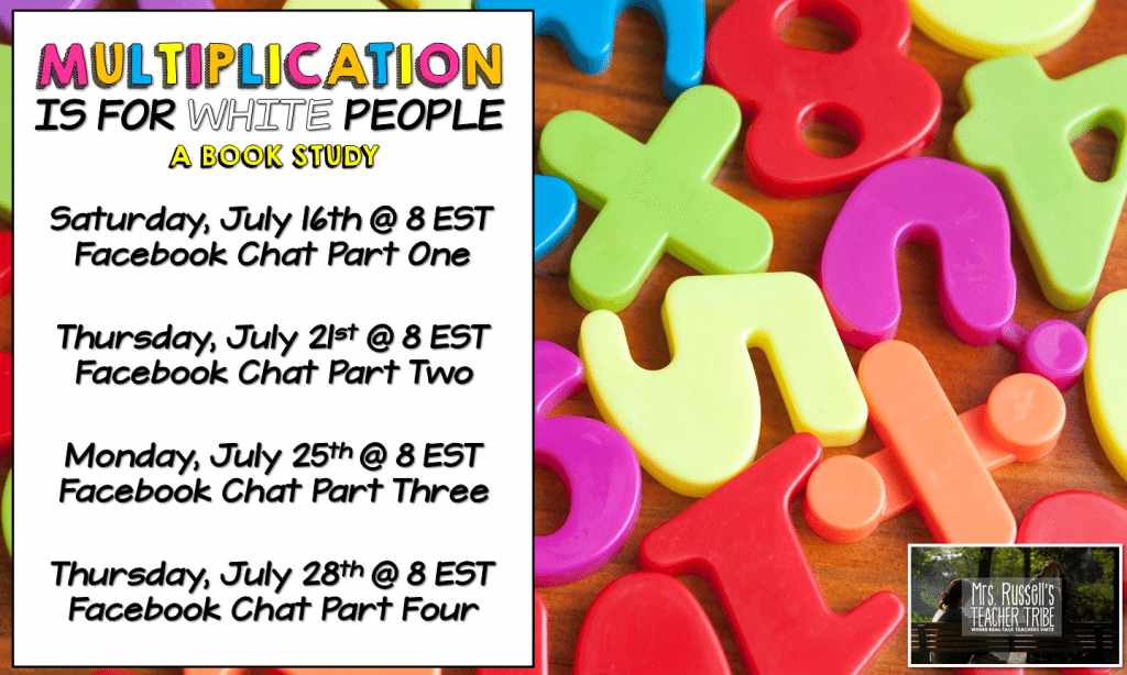 Multiplication Is For White People Book Study