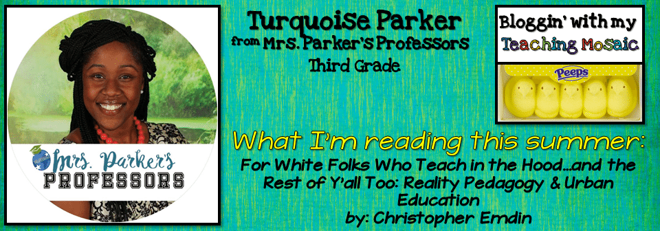 Book Suggestion from Turquoise Parker