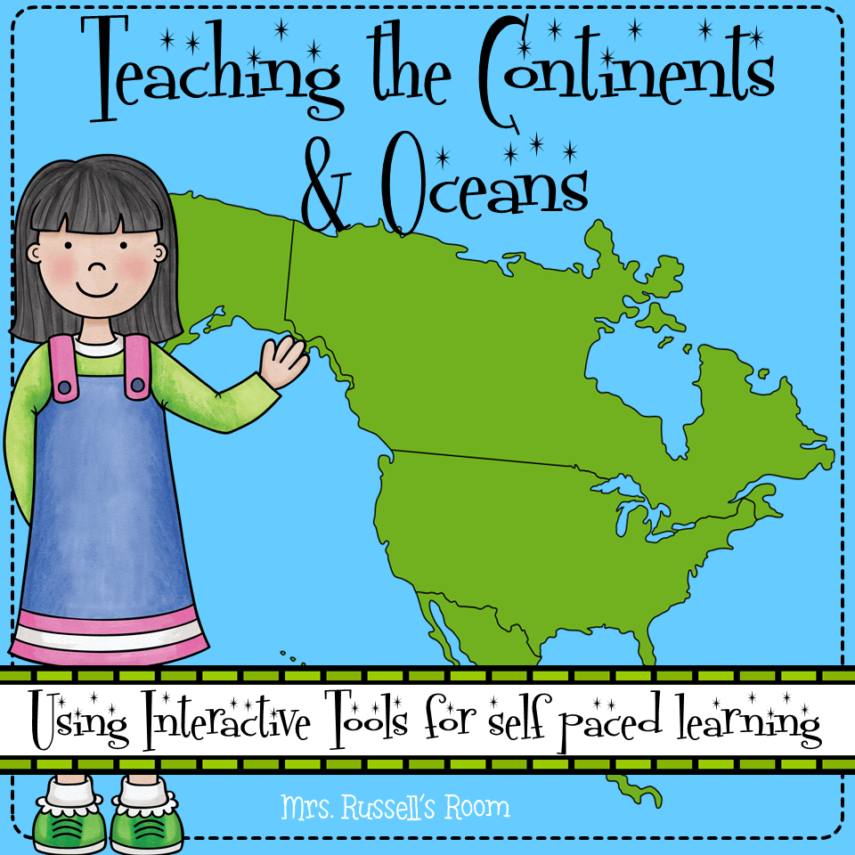 Teaching the Continents & Oceans