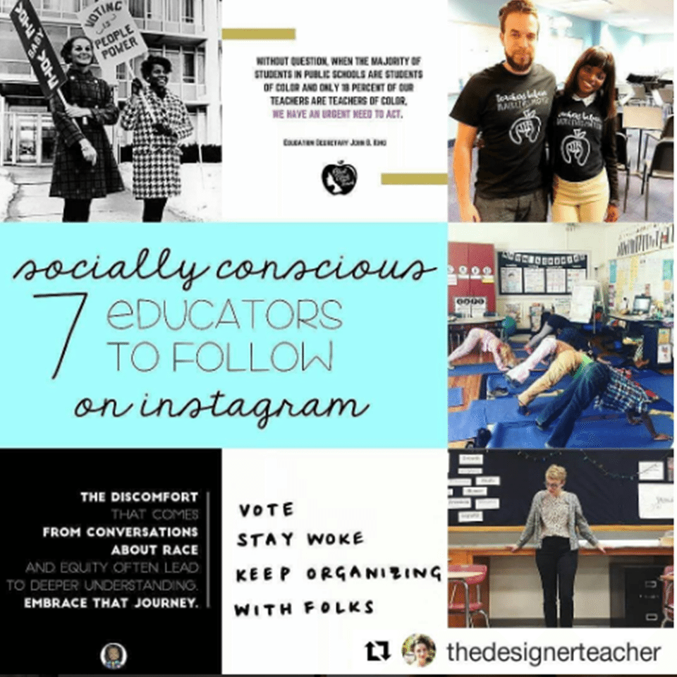 Socially Conscious Educators on Instagram