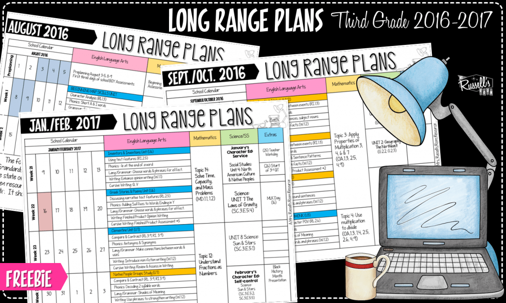 Long Range Plans for Third