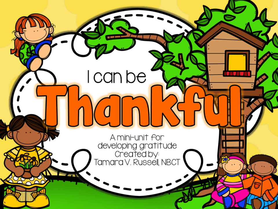 Thankfulness Lessons