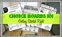 Choice Boards 101