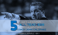 5 Lessons for Teachers from Coach John Calipari