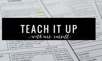 Teach It Up: The First Week