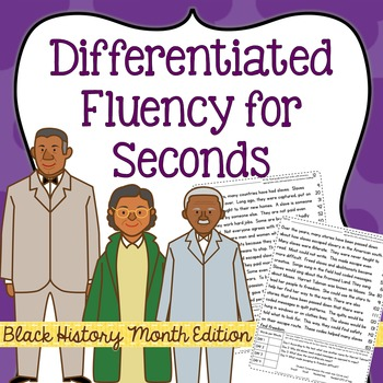 Second Grade Fluency for Black History Month