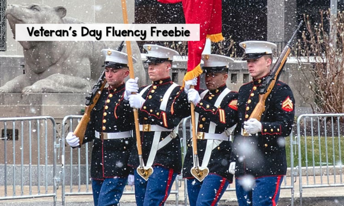 Veteran's Day Fluency