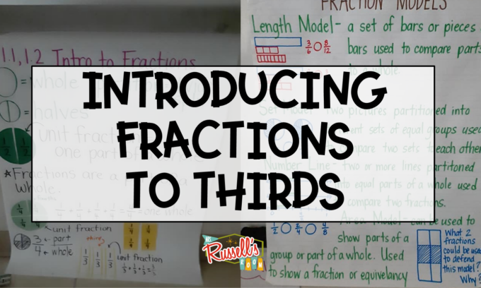 Introducing Fractions in Third