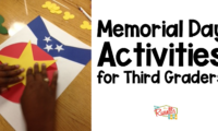 Memorial Day Activities for Thirds